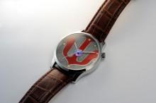 越前漆器で作った時計